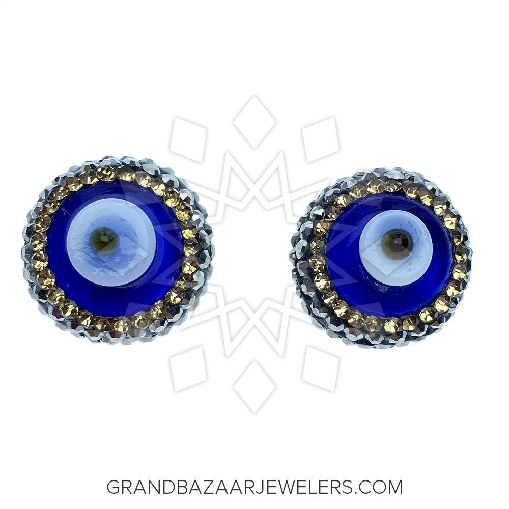 4bd85c0c4 Customize & Buy 925 Silver Evil Eye Rings - GBJ1RG3300-1 Online at Grand  Bazaar Jewelers in 2019 | Evil Eye Jewelry | Evil eye ring, Evil eye jewelry,  ...
