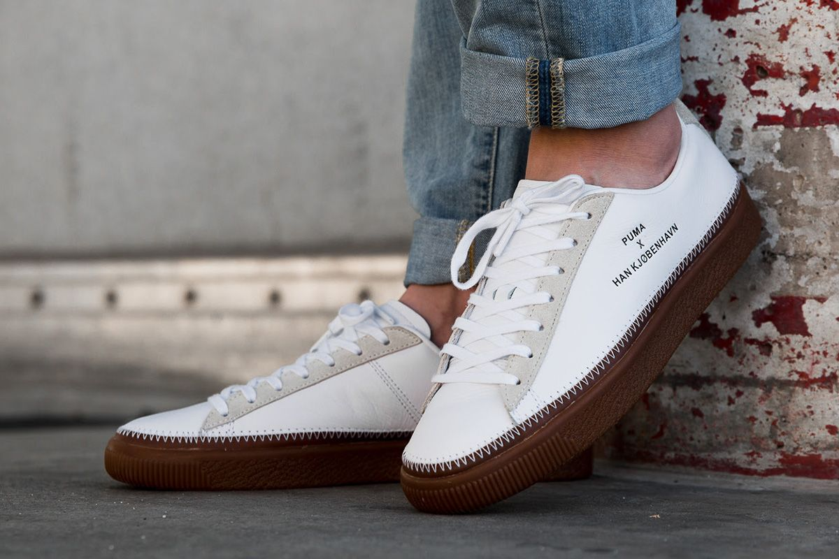 Han Kjobenhavn X Puma Clyde Stitched Han Eu Kicks Sneaker Magazine Sneakers Moda Moda Masculina