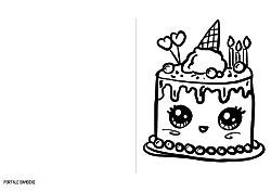 Disegni Da Colorare Per Compleanno Bambina.Biglietti Di Auguri Di Compleanno Originali Da Stampare Gratis