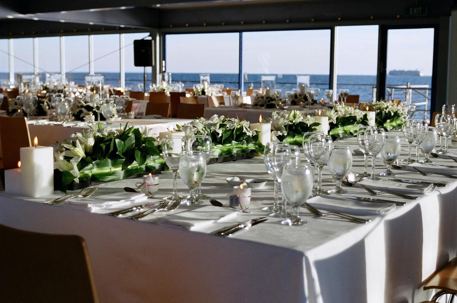 Weddings The Port Melbourne Yacht Club Ancd At Water S Edge Showcases Some Of Best
