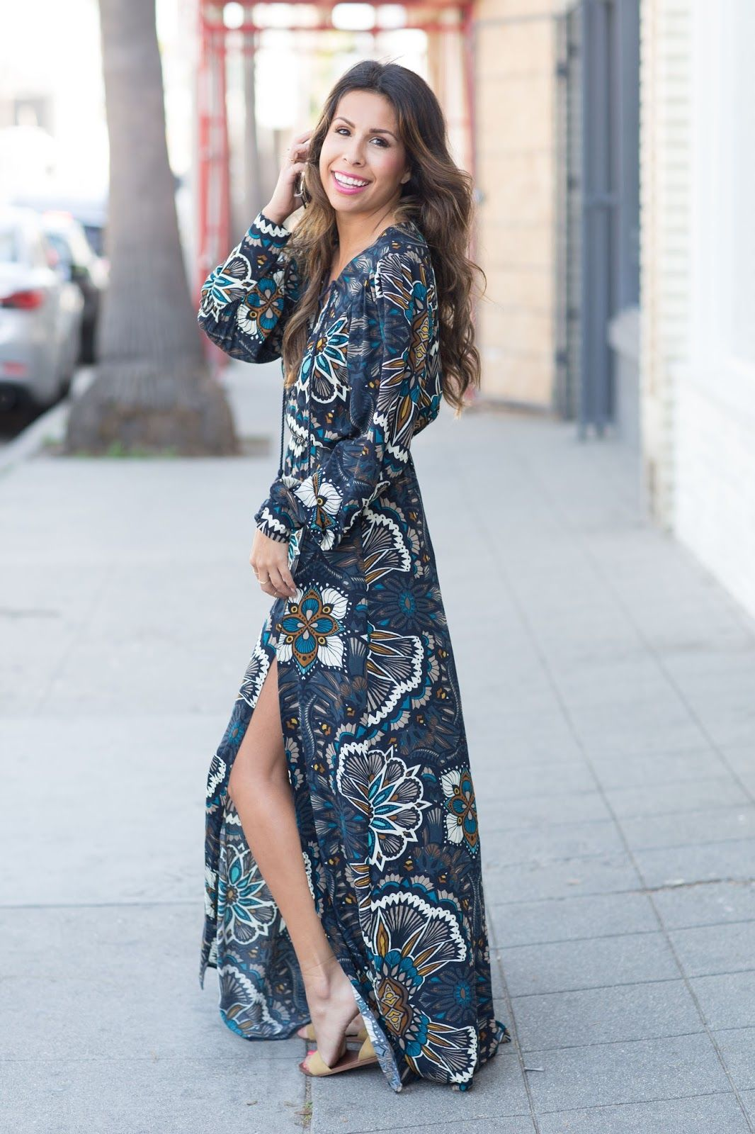 c4f11af1c6a how to wear maxi dress with flats