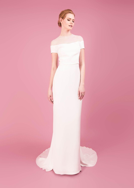 Atractivo Polka Dots Wedding Dress Galería - Colección de Vestidos ...