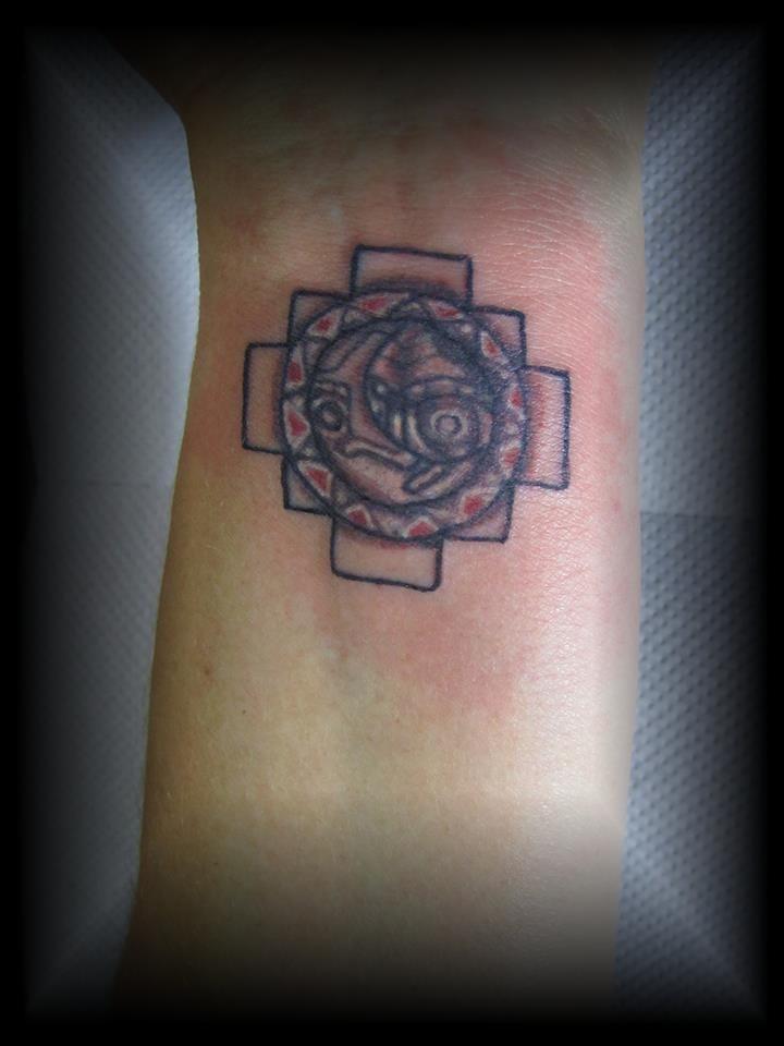 inca cross tattoo - photo #1