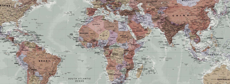 Classic World Map Wallpaper | Stylish Map Mural | MuralsWallpaper #worldmapmural Classic World Map Wallpaper | Stylish Map Mural | MuralsWallpaper #worldmapmural