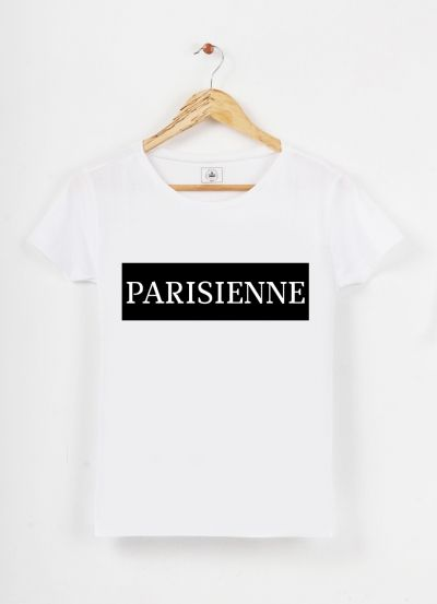 Tshirt col rond Paris by Ctz on Triaaangles