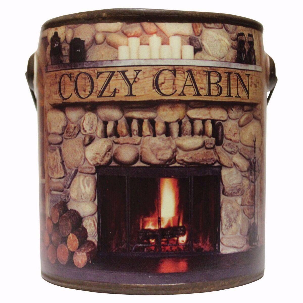 Farm fresh ceramic cancozy cabin 20 oz candle cozy