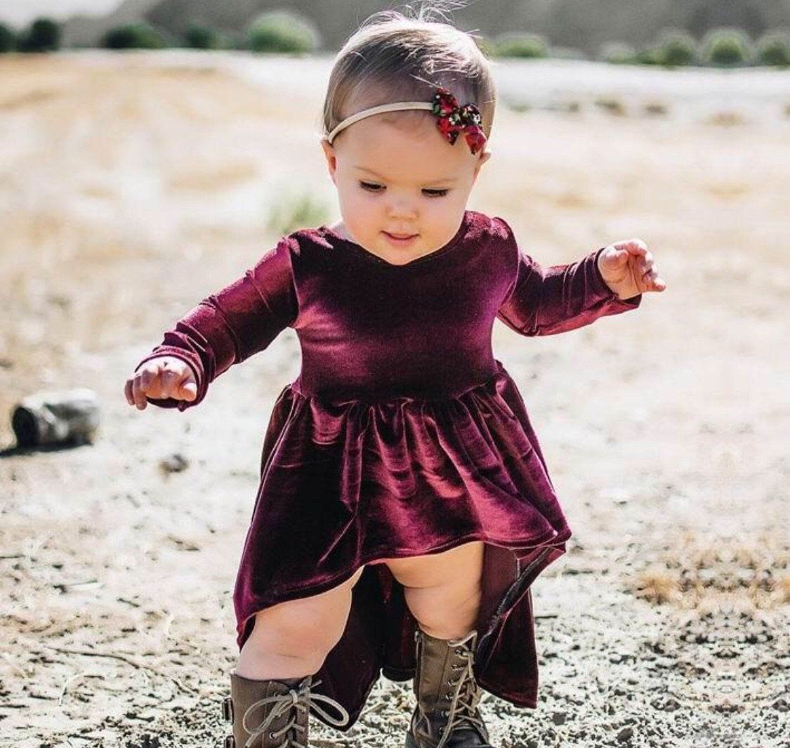 b71d20202cbe Winter Party Dresses For Baby Girl | Saddha