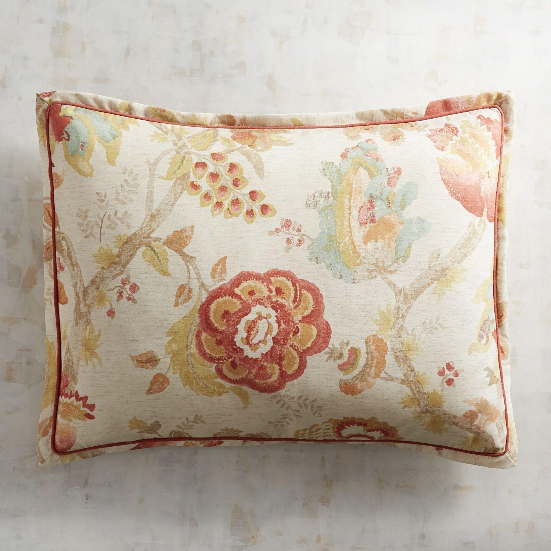 Winslow Spice Standard Pillow Sham Red
