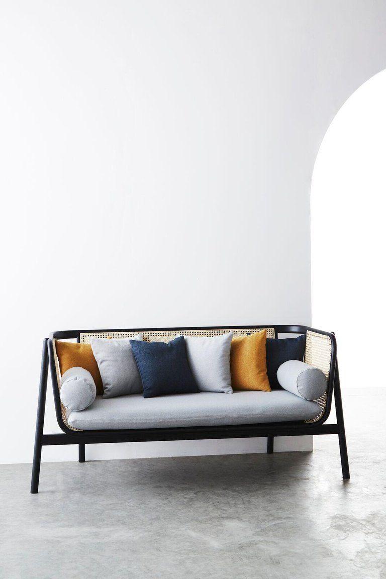 Asian Hamp Sofa Contemporary Woven Cane Sofa For Sale Cane Sofa Vintage Sofa Sofa