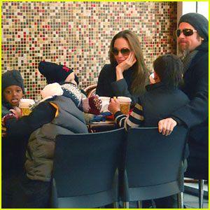 Brad, Angelina & Family