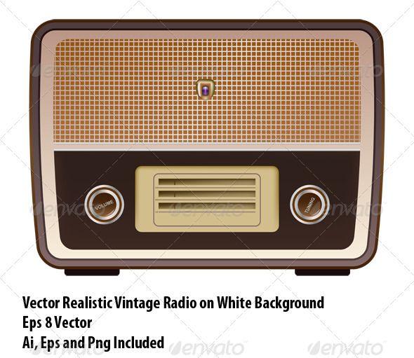 Vintage Radio 10 Free Icons Icon Search Engine Vintage Radio Radio Icon Radio