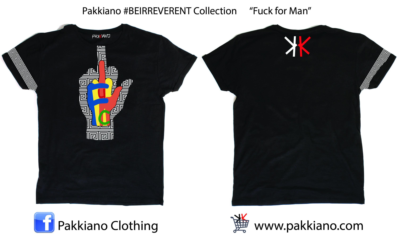 Pakkiano #BEIRREVERENT Collection, ordina online senza spese di spedizione! T-Shirt di altissima qualità SHOPPING ON ... www.pakkiano.com _Ebay_Amazon_FacebookShop_PakkianoMobile http://www.pakkiano.com/it/donna/77-t-shirt-beirreverent-fuck-donna.html
