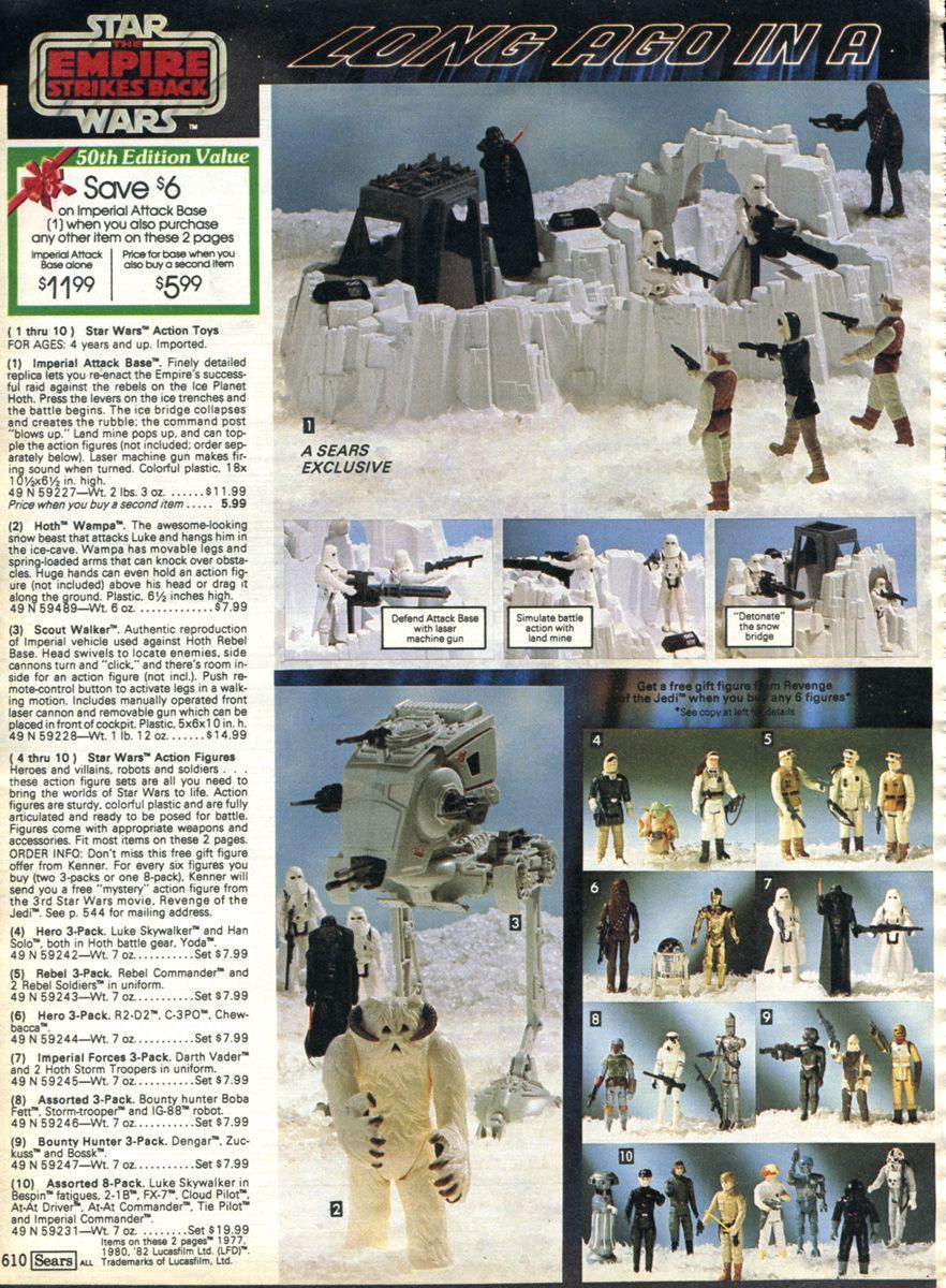 Sears Christmas Catalog 1982 second Star Wars page | Star Wars stuff