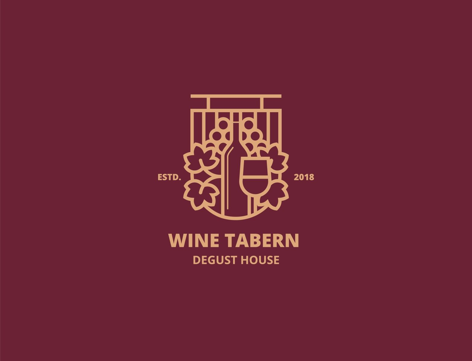 The Wines Tabern In 2020 Wines Creative Professional Design