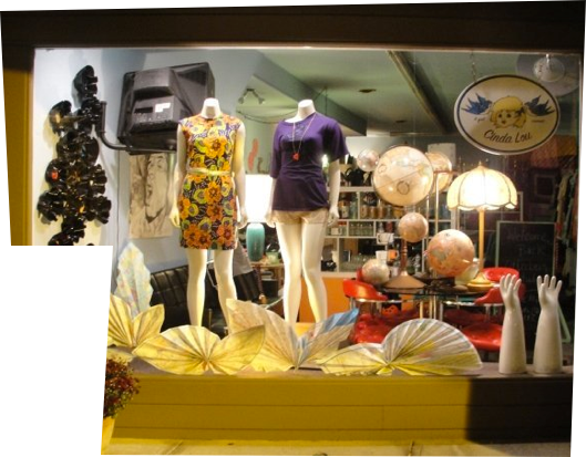 A Gal Named Cinda Lou offers fun and funky merchandise from the 50s, 60s, and 70s #vintage #westerville #ohio