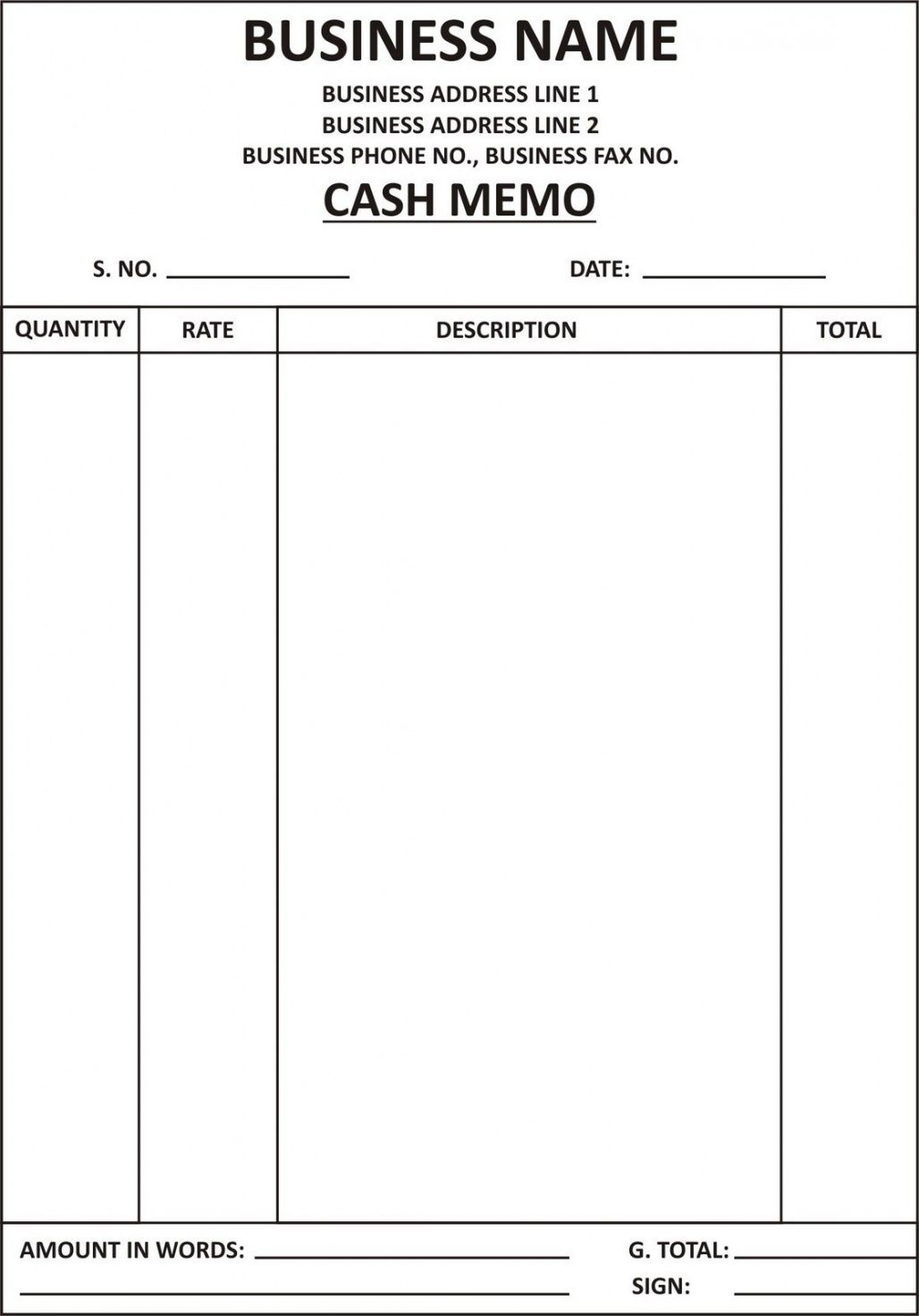 Explore Our Image Of Cash Invoice Template Invoice Format Invoice Template Invoice Design Template