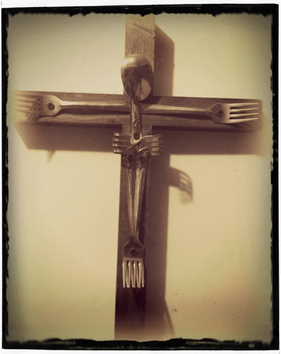 Cruz para cocina o comedor