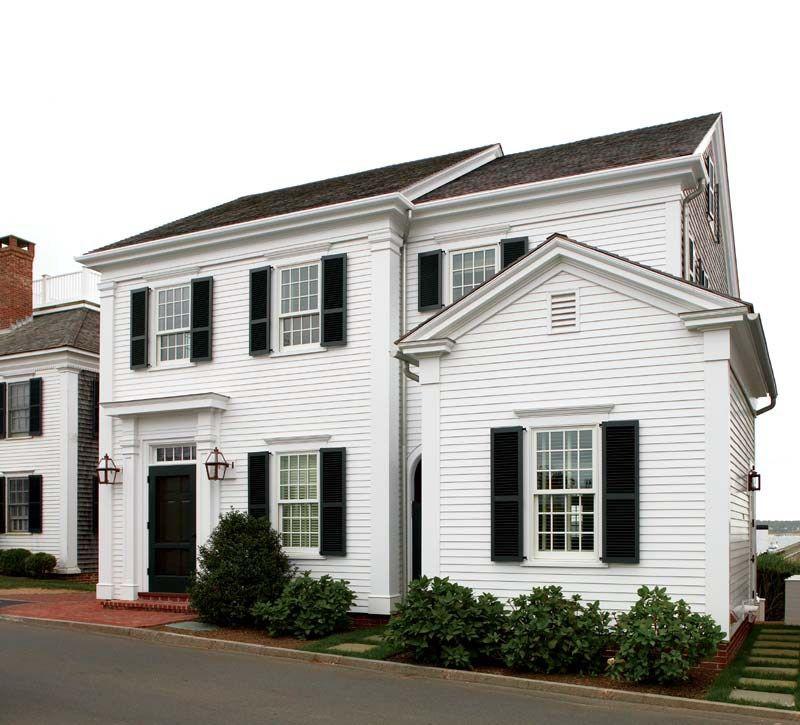 Une maison au charme Nouvelle Angleterre | PLANETE DECO a homes ...