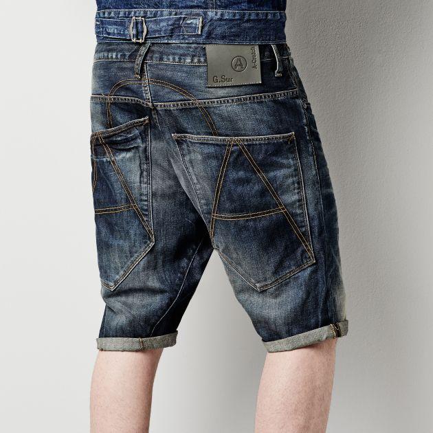 be588e25834 G-Star RAW - A Crotch 1/2 - Men - Shorts | Mens fashion | Denim ...
