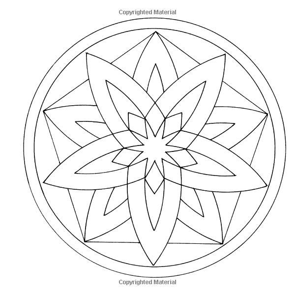 Infinite Coloring Mandala Designs CD and Book (Dover