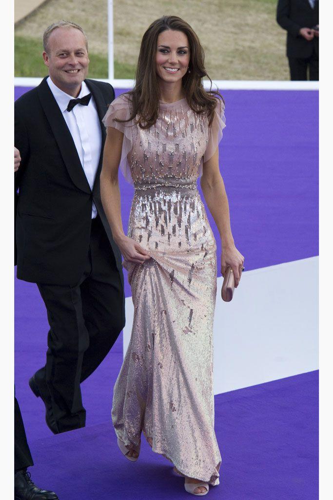 El estilo de Kate Middleton | Décimo aniversario, Jenny packham y ...