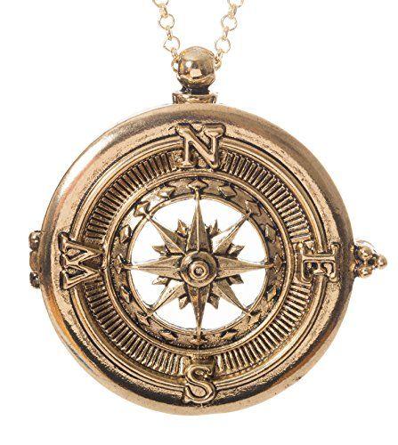 "Compass 4x Magnifier Magnifying Glass Sliding Top Magnet Pendant Necklace, 30"" (Gold Tone) Artisan Owl http://www.amazon.com/dp/B016LKK6UQ/ref=cm_sw_r_pi_dp_ygc8wb0QJWPMQ"