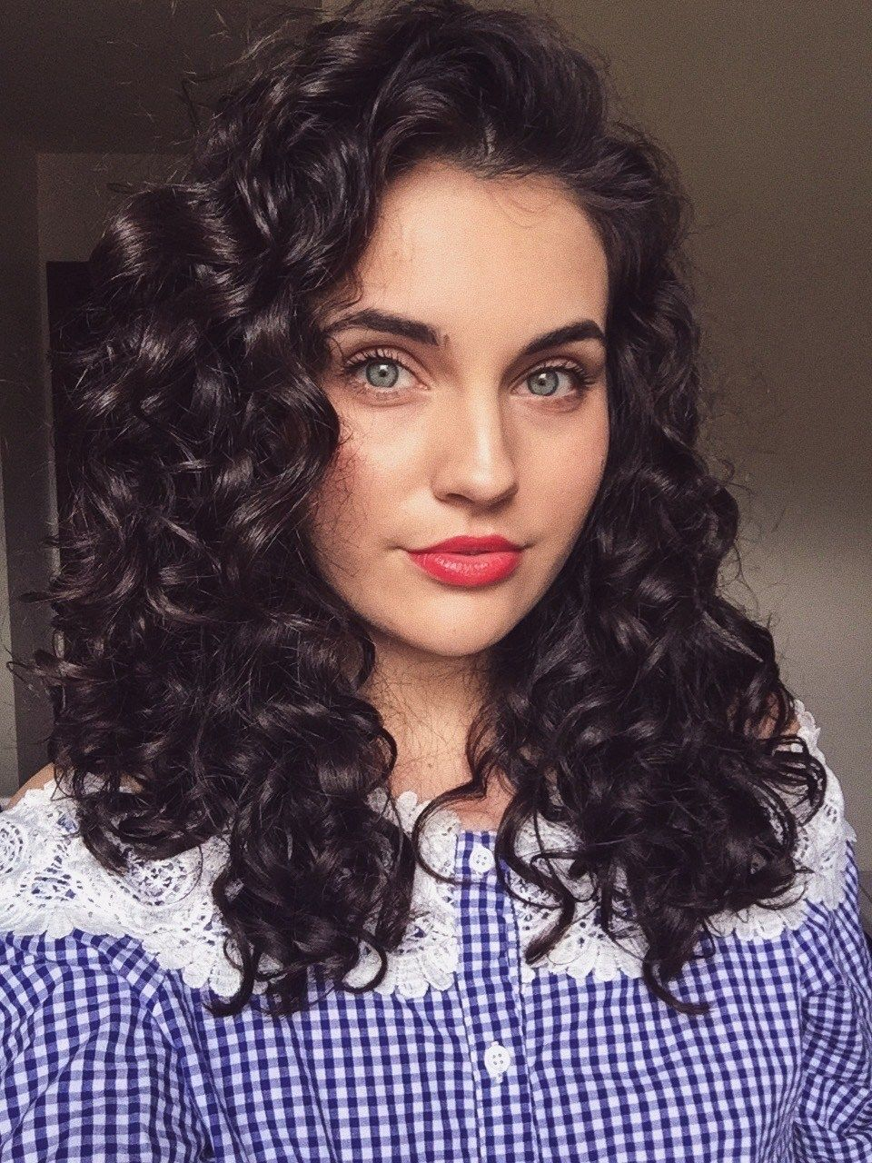 The secret to pretty next day curls curls pinterest curly hair