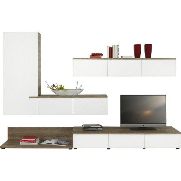 Stilvolle Wohnwand von RODEO sorgt für harmonisches Ambiente