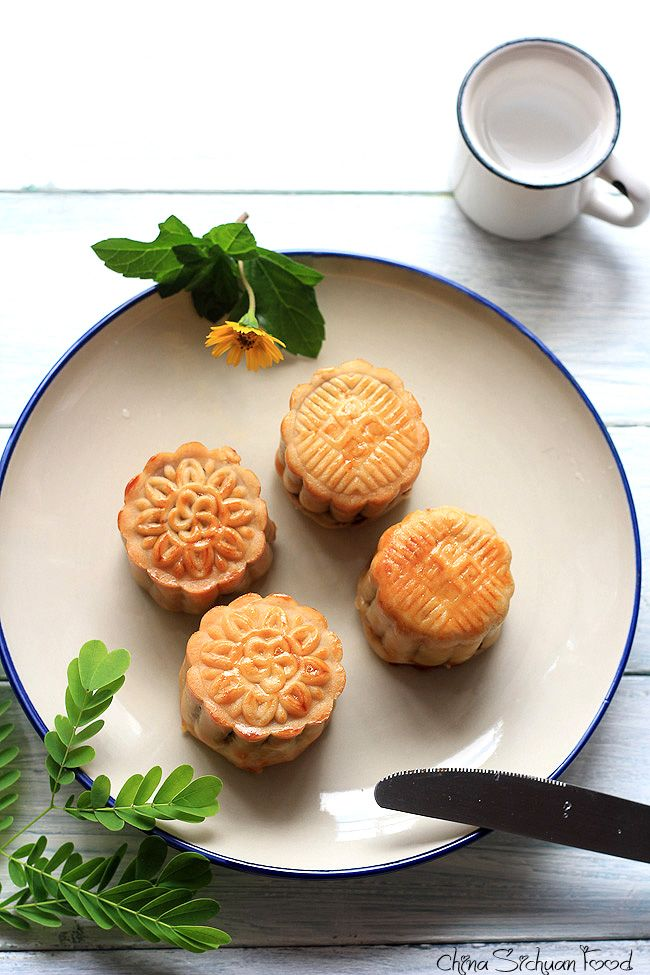 Chinese Mooncakes—Traditional Version #mooncake