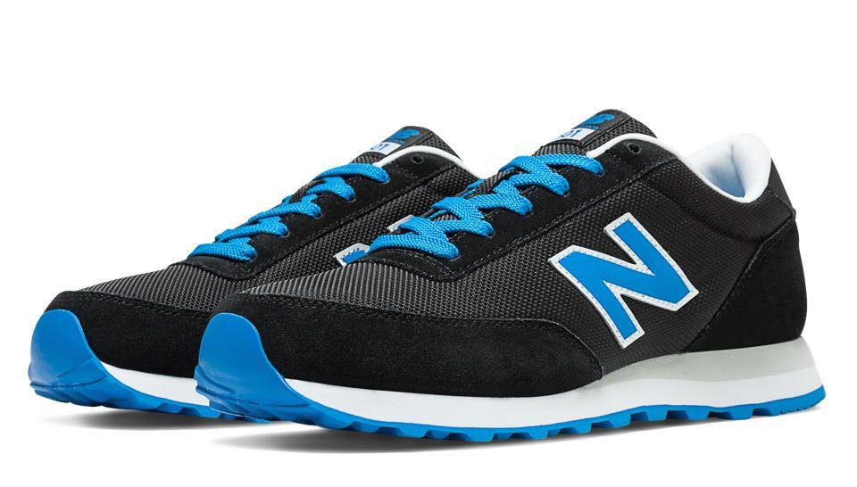black and blue new balance