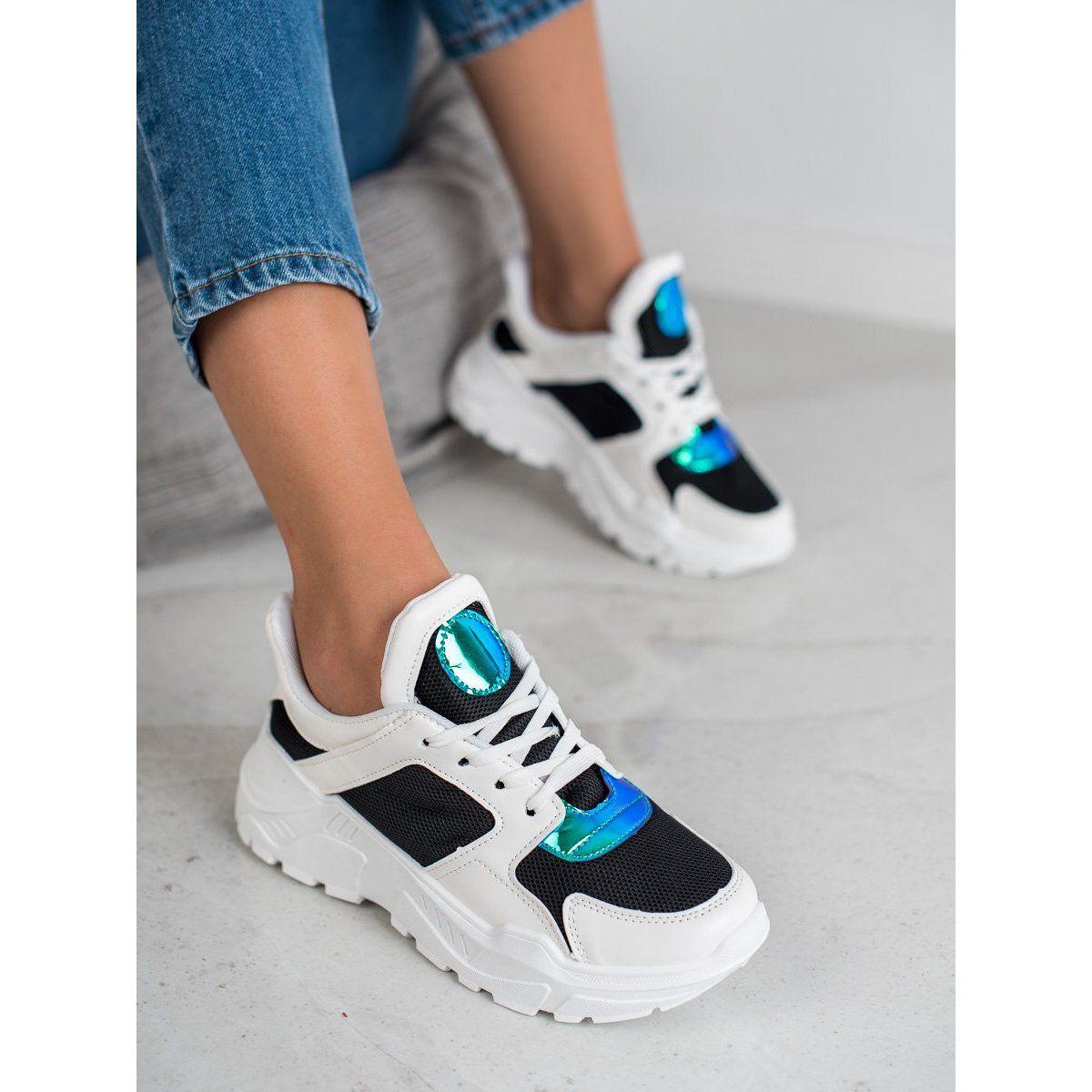 Guapissima Modne Sneakersy Biale Wielokolorowe Air Max Sneakers Sneakers Nike Nike Air Max