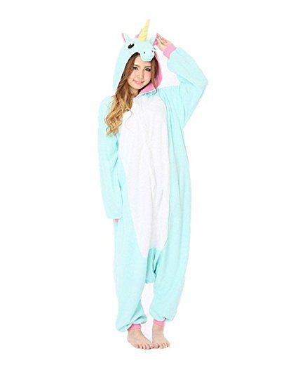 extrêmement unique prix compétitif faire les courses pour Kischers combinaison pyjama licorne femme fille: Amazon.fr ...