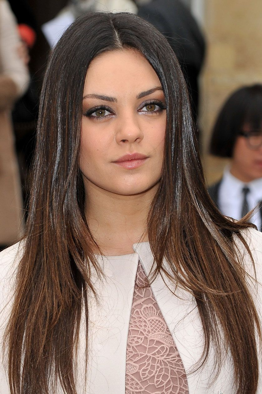 haircuts thick hair pictures mila kunis hair project gracie 3754