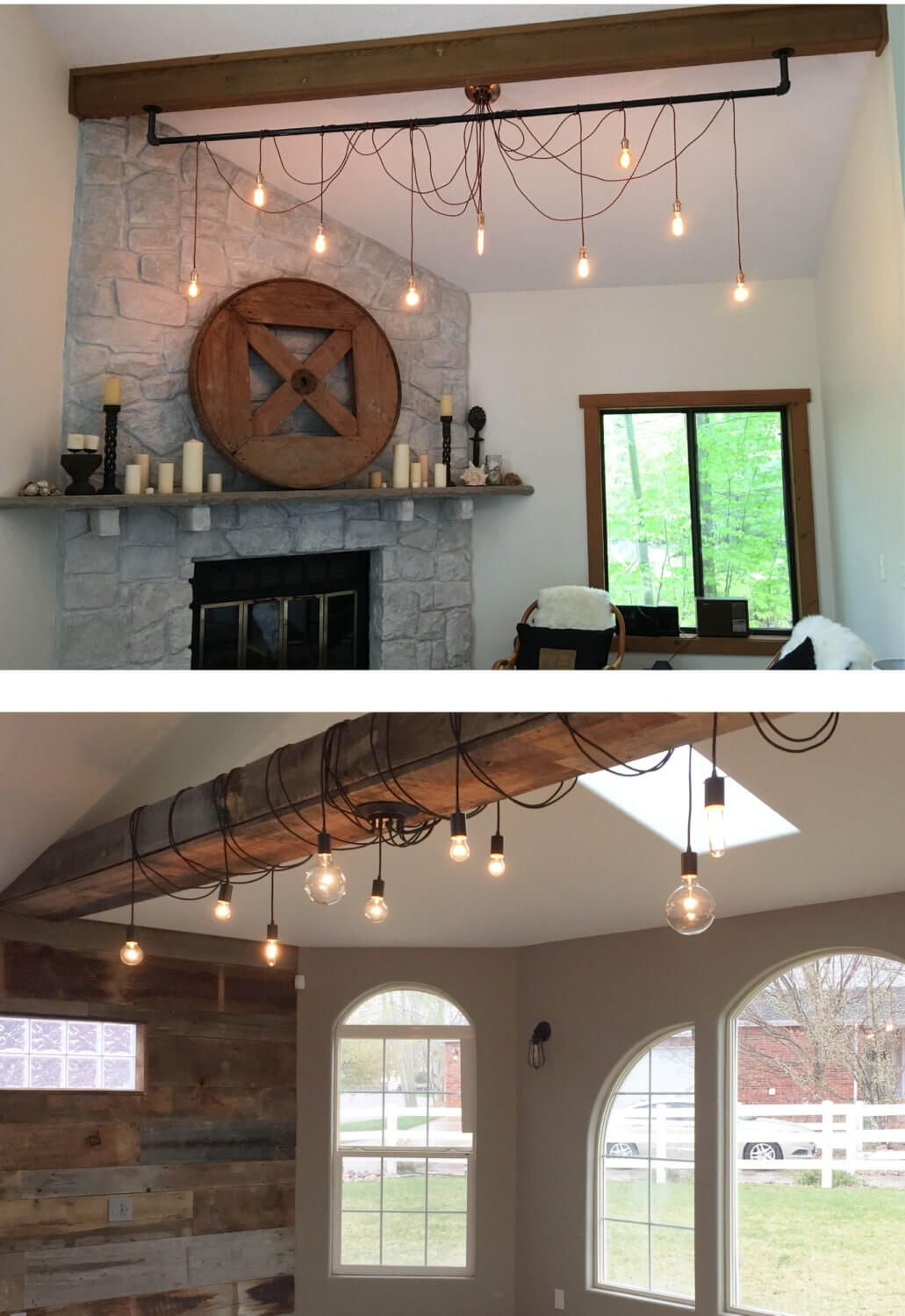 10 Most Popular Rustic Lighting For Living Room