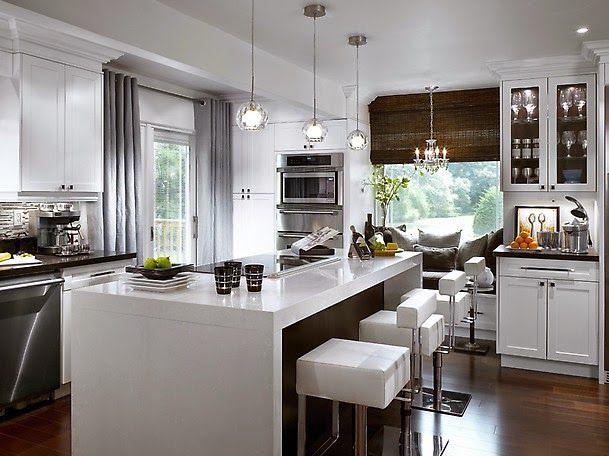Kitchen Island Design  Szukaj W Google  Malownicze  Pinterest Stunning Designing The Perfect Kitchen Design Ideas