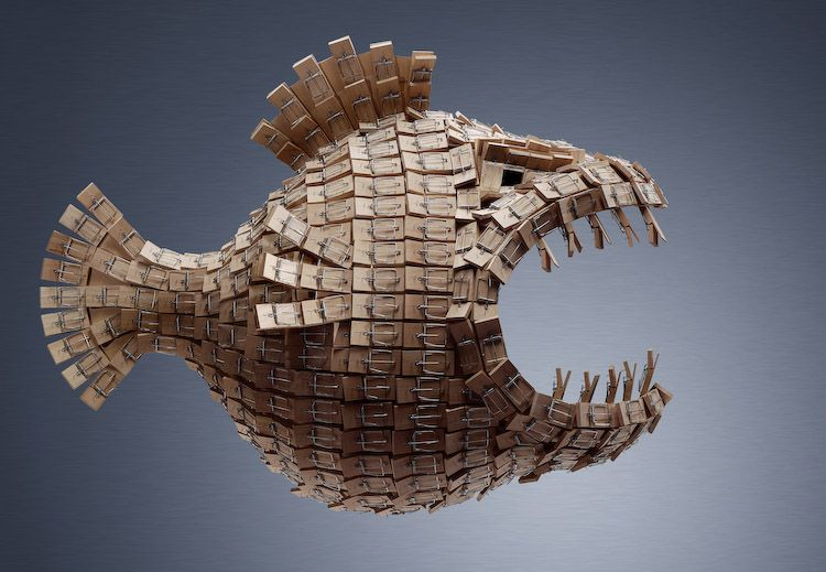 """Fish Trap"" by Ray Massey"