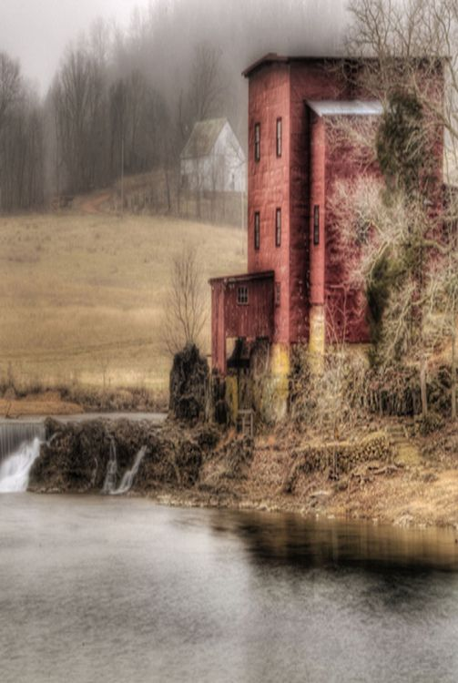 Dillard Mill In The Missouri Ozarks