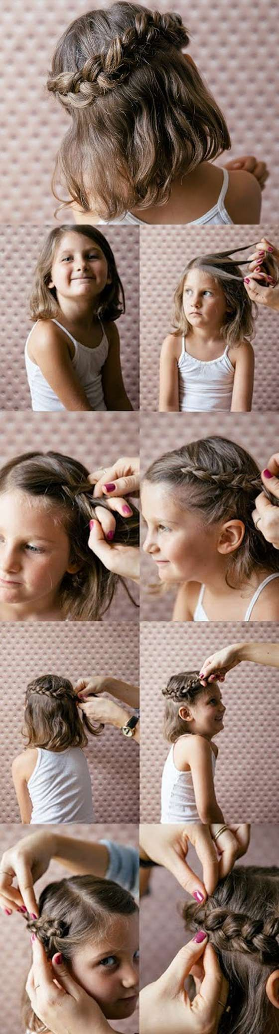 20 Quick And Easy Braids For Kids Tutorial Included Peinados