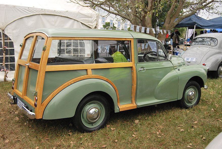 Cars in the Park 2015 morris traveller from our durban