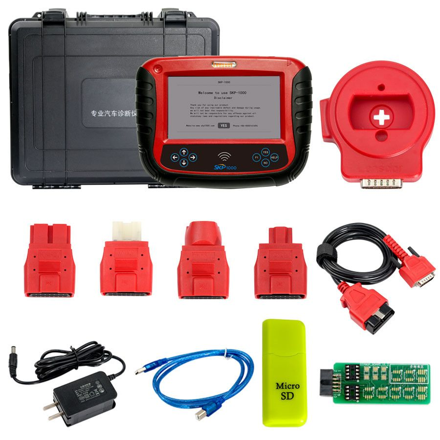 SKP1000 Tablet Auto Key Programmer A Must Tool for All