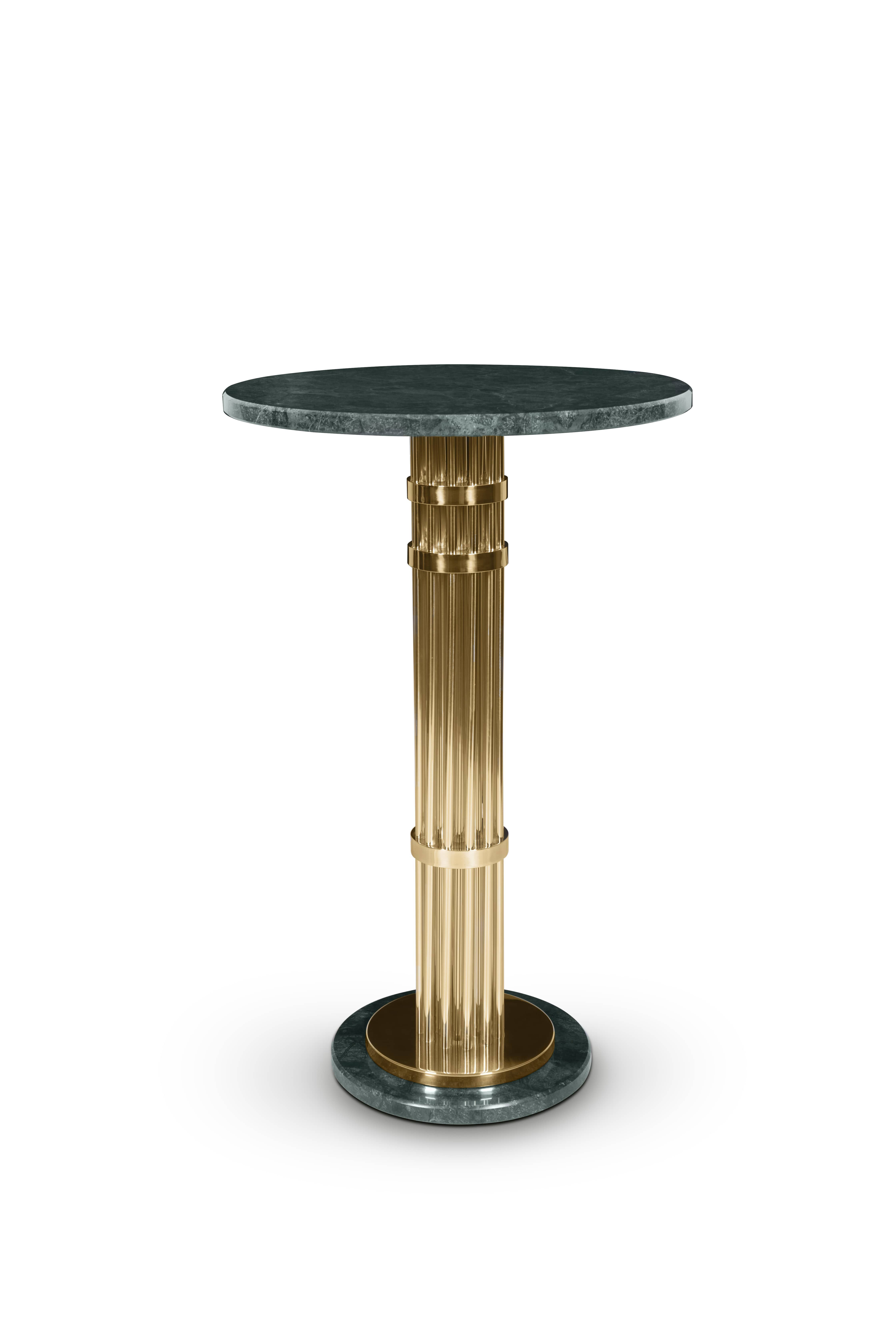 Janis Is A Pub Table Inspired By Midcentury Modern Design Crafted - Mid century modern pub table