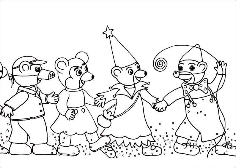 Coloriage petit ours brun au carnaval carnaval pinterest le carnaval carnaval et brun - Coloriage a imprimer petit ours brun ...