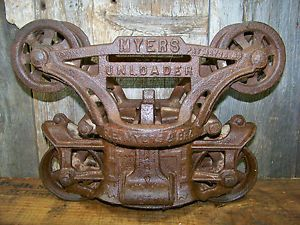 Old Barn Frames for Sale | ... Myers Barn Trolley - Old ...