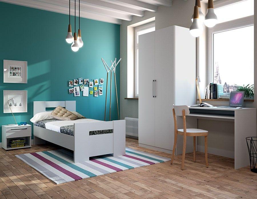 chambre enfant blanc mat design Chambres Pinterest Bedrooms