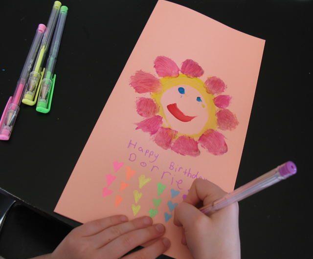 Easy handmade birthday card handmade birthday cards birthdays and easy handmade birthday card bookmarktalkfo Images