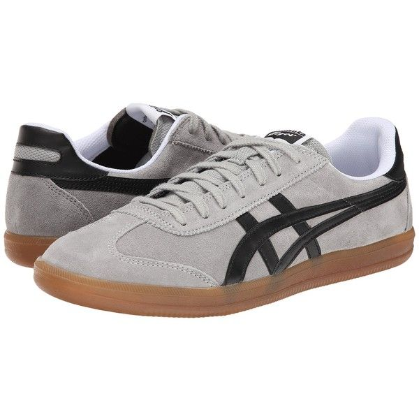 Onitsuka Tiger by Asics Tokuten (Light Grey/Black) Classic Shoes ($70)