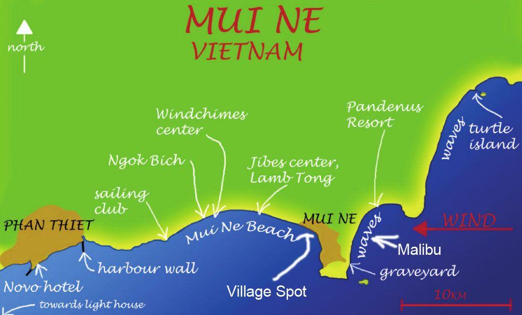 Learn to kitesurf in Mui Ne at Vietnam Kiteboarding School