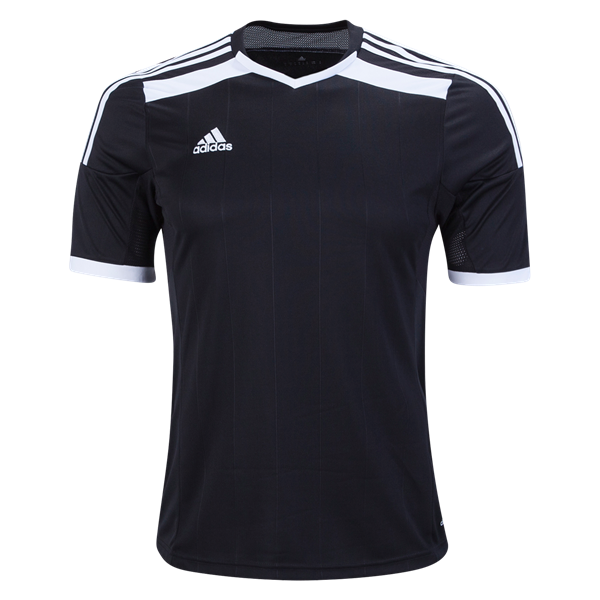 b3a144e6a3f Ready to play  br  br Lightweight ClimaCool jersey with embroidered adidas  logo at right chest. br  br Strategically placed mesh at shoulders and  under.