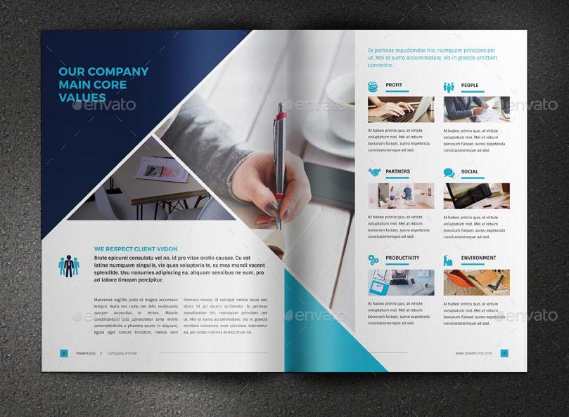 powercorp business brochure corporate profile company profile
