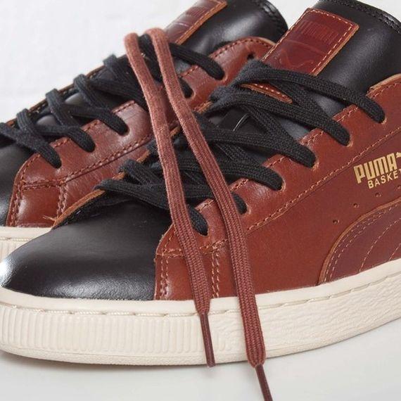 "separation shoes d7b3a a9139 Puma Basket ""Classic Luxe"" Tênis Roshe Nike, Tênis Nike Grátis, Roupas Para"